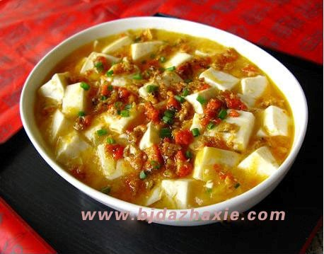 大闸蟹的做法—蟹粉豆腐