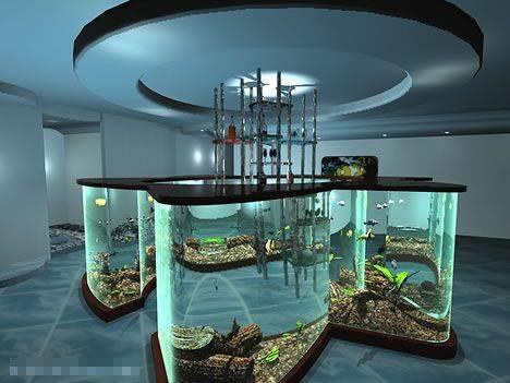 全球最不可思议的15种水族缸