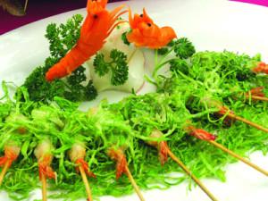 沙律棒棒虾