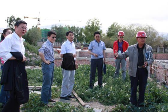 中国beplayapp体育下载科学研究院开展科技援藏实地考察调研