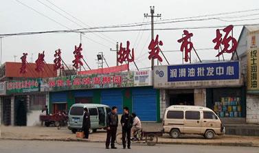 鄂襄樊蔬菜批发市场