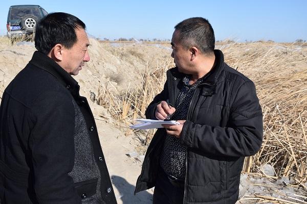 吉林省白城市通榆县千赢电子游戏平台管理总站着力启动河蟹规模养殖