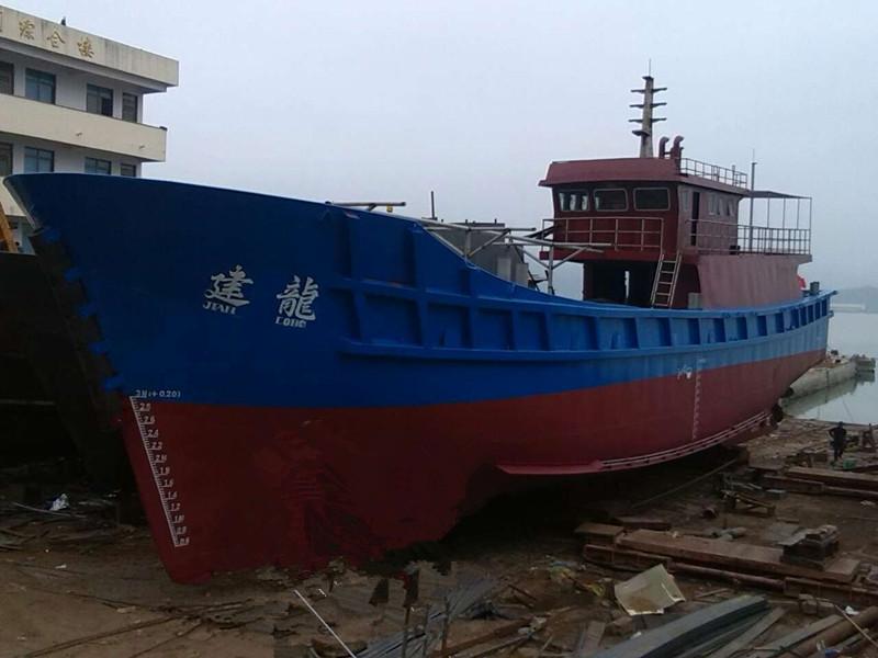 """香港渔船""""建龙""""顺利下水"""