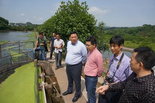 甘肃天水市畜牧兽医局组团来渝考察巴南渔业