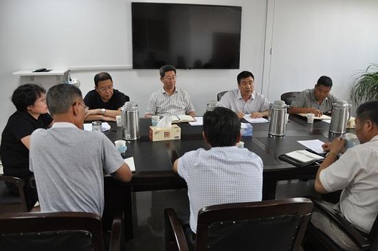 山东省海洋与渔业监督监察总队来日照调研渔船标准化、渔民转产转业工作