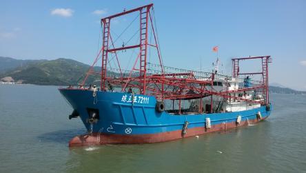 两艘海南籍灯光围网渔船建成交付使用