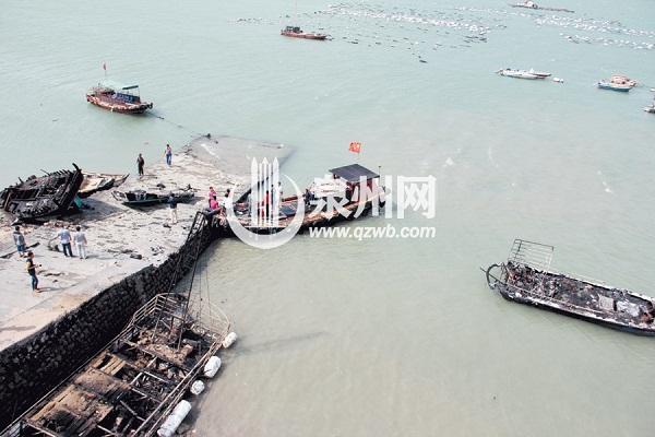福建泉州泉港惠屿岛大火烧毁15艘渔船 Beplay官网版遭遇难题