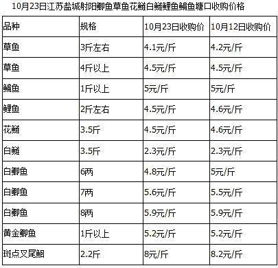 周边养殖户纷纷卖鱼 近期江苏射阳淡水鱼行情不理想