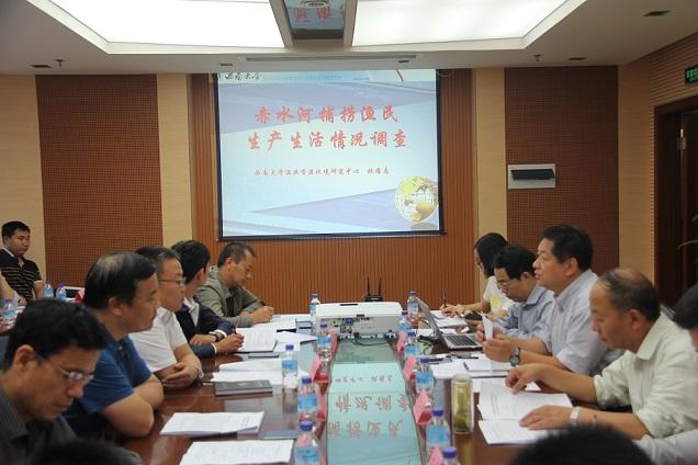 农业部长江流域渔政监督管理办公室主任李彦亮一行到贵州调研赤水河渔民转产转