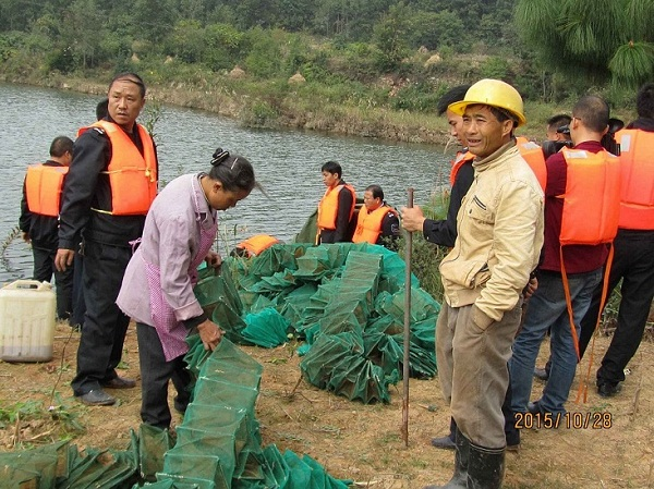 贵州毕节市黔西县开展清理整治非法捕捞执法专项行动