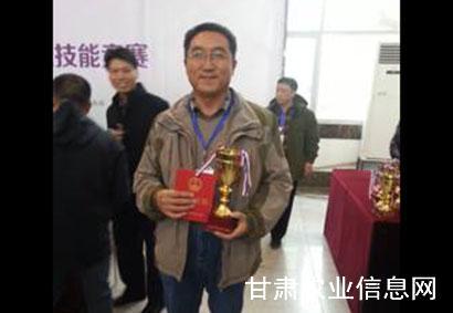 甘肃组队参加首届全国千赢电子游戏平台技术推广职业技能竞赛并且取得优异成绩
