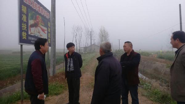 湖北省千赢电子游戏平台技术推广总站专家调研两河镇渔业生产