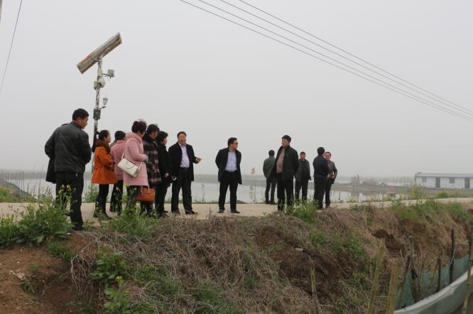 江苏盐城市建湖县组织指导员赴泗洪、盱眙参观学习