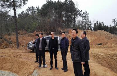 江西九江市渔业局领导来湖口县调研现代渔业项目建设工作