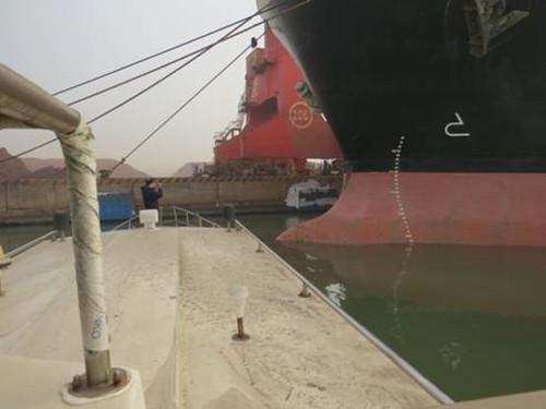 第五支队协助上海海事局、舟山市海洋与渔业局工作组核查涉嫌肇事商船