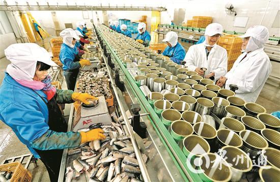 福建泉州产鱼罐头成非洲高档菜肴