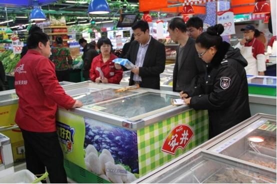 辽宁葫芦岛绥中县开展无公害千赢电子游戏平台品标志使用专项检查