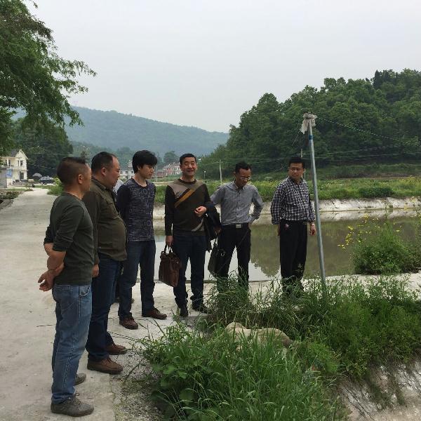 湖北宜昌市千赢电子游戏平台局调研长阳春季渔业生产