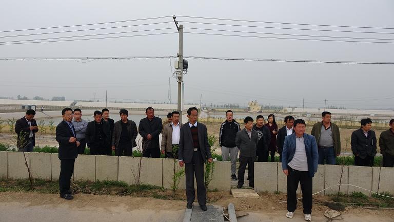 山东聊城茌平县召开了新型渔民培训座谈会