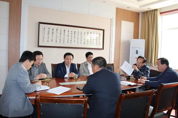 山东济南市渔业办检查督导商河县2016年标准化设施渔业建设项目