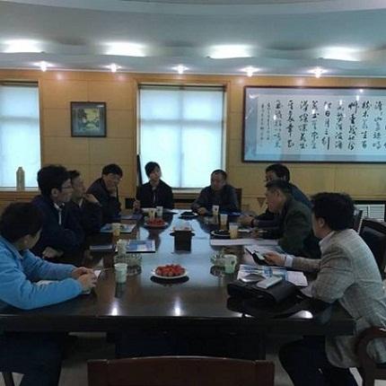 山东省考核组来荣成检查验收基层渔业技术推广体系建设工作