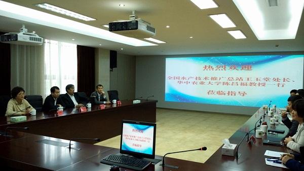 农业部专家来浙江省指导千赢电子游戏平台动物病原菌耐药性普查工作
